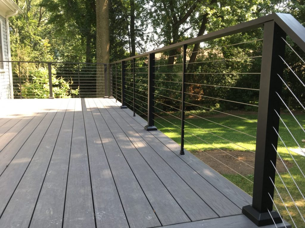 Aluminum Porch Hand Railing Installation Fresno