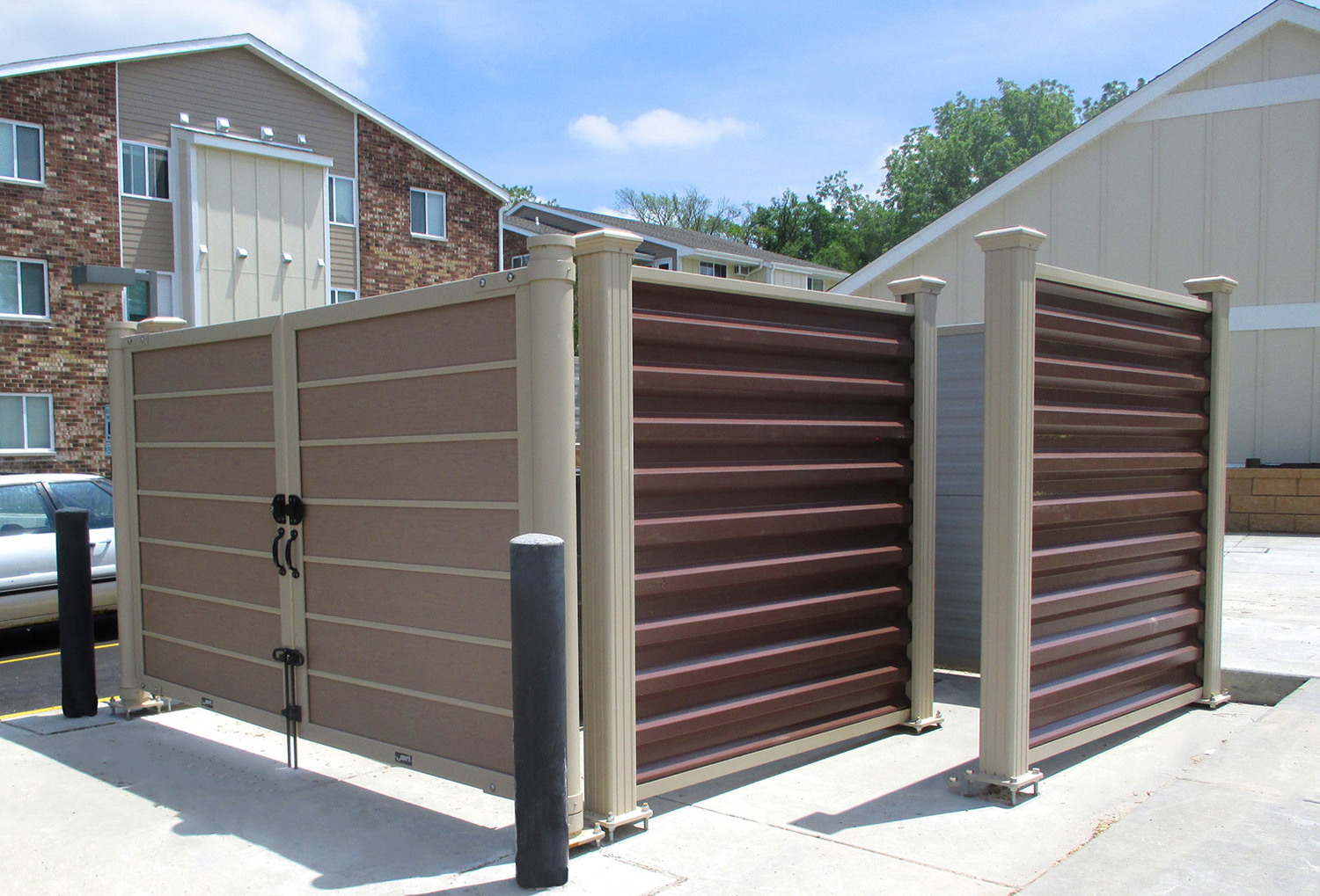 Dumpster Enclosures Installation Fresno